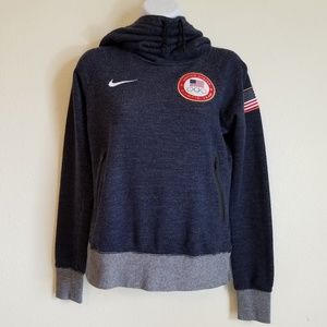 Nike USA Olympic Team Hoodie Women's Small
